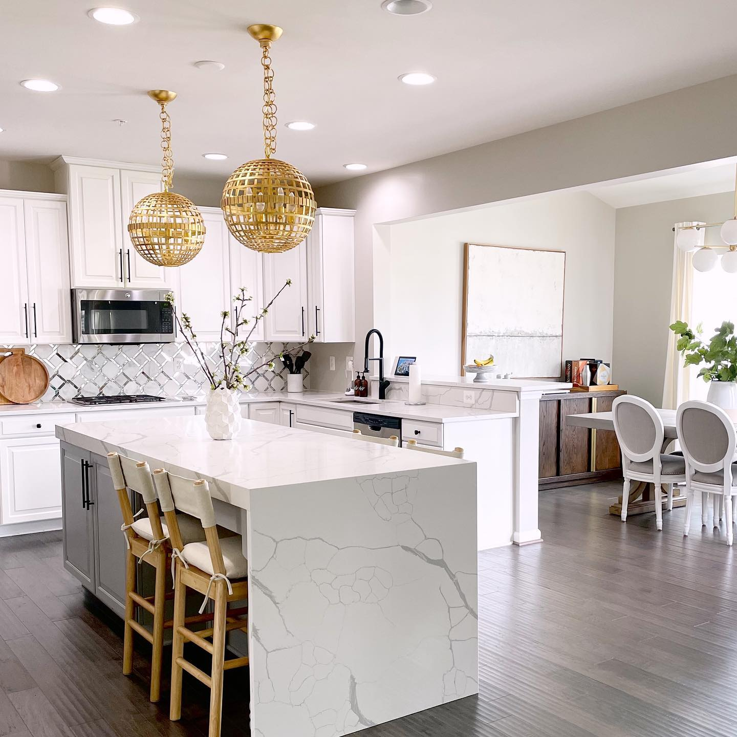Inspiring ideas for upgrading your kitchen with floor tile and ...